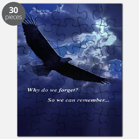 Why Do We Forget? So We Can Remember.... Puzzle