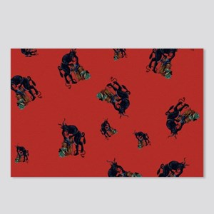 The Krampus - an Austrian Postcards (Package of 8)