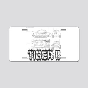 King Tiger Aluminum License Plate