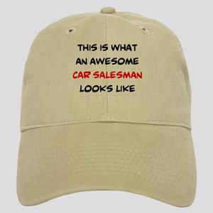 awesome car salesman Cap
