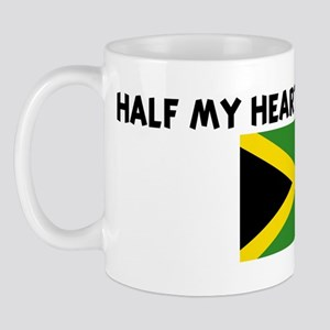 HALF MY HEART IS IN JAMAICA Mug