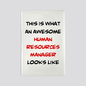 awesome human resources Rectangle Magnet