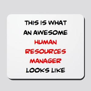 awesome human resources Mousepad