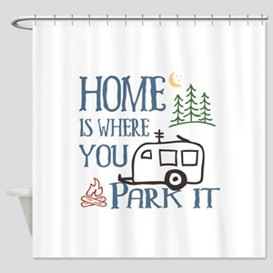 Camper Home Shower Curtain