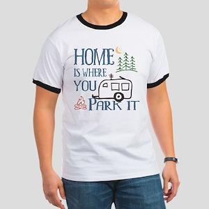 Camper Home Ringer T