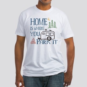Camper Home Fitted T-Shirt