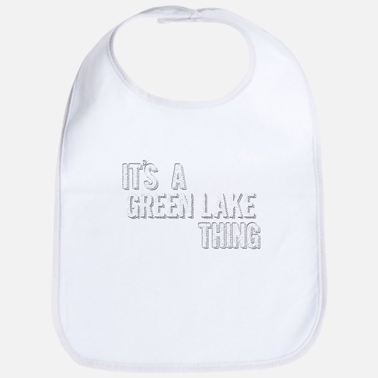 Its A Green Lake Thing Baby Bib