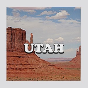 Utah: Monument Valley Tile Coaster