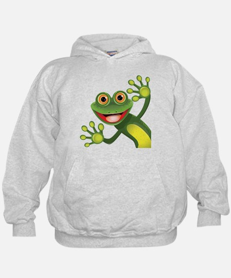 Happy Green Frog Sweatshirt