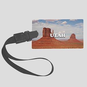 Utah: Monument Valley, USA Large Luggage Tag
