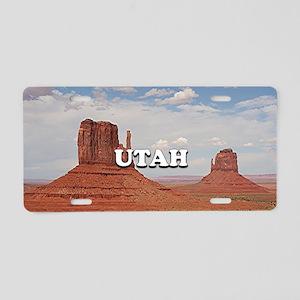 Utah: Monument Valley, USA Aluminum License Plate