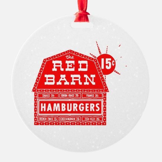 Red Barn Ornament
