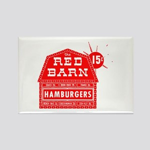 Red Barn Rectangle Magnet