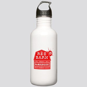 Red Barn Stainless Water Bottle 1.0L