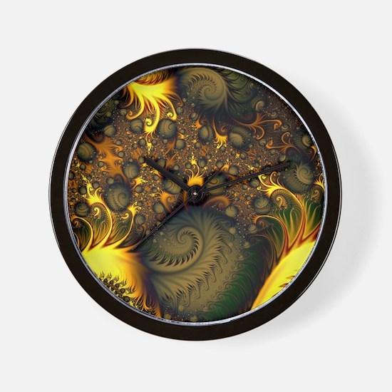Unique Modern spiral Wall Clock