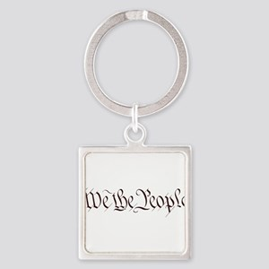 We the People - Bumper Sticker Keychains