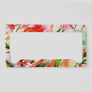 No. 001 Batik Art Asia Master License Plate Holder