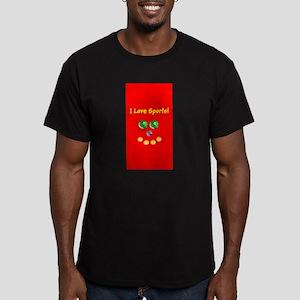 I Love Sports Balls Face 4Artie T-Shirt