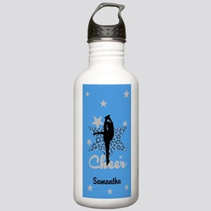 Blue Allstar cheerleader Water Bottle