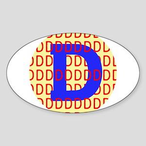 DDDDDDDDD Sticker