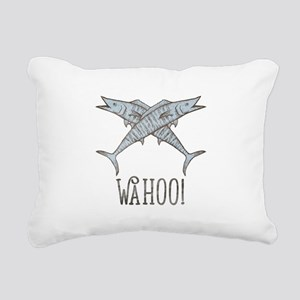 Wahoo Rectangular Canvas Pillow