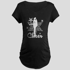 Allstar Cheerleader Maternity T-Shirt