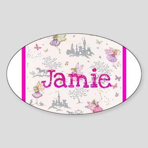 Jamie- unicorn princess Sticker