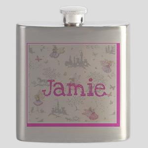 Jamie- unicorn princess Flask