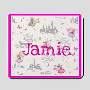 Jamie- unicorn princess Mousepad