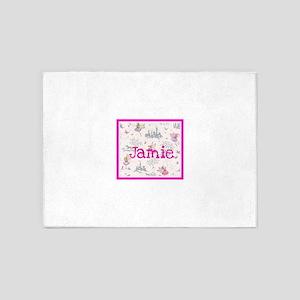 Jamie- unicorn princess 5'x7'Area Rug