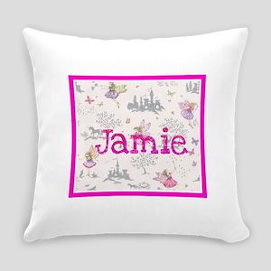 Jamie- unicorn princess Everyday Pillow