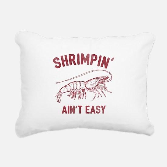 Shrimpin' Rectangular Canvas Pillow
