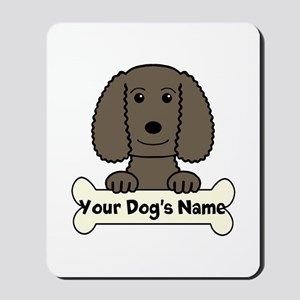 Personalized Water Spaniel Mousepad