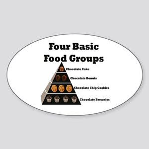 4basicfoodgroups Sticker
