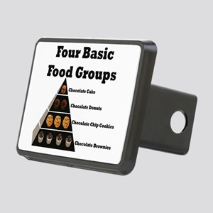 4basicfoodgroups Rectangular Hitch Cover