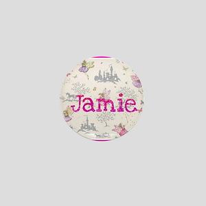 Jamie- unicorn princess Mini Button