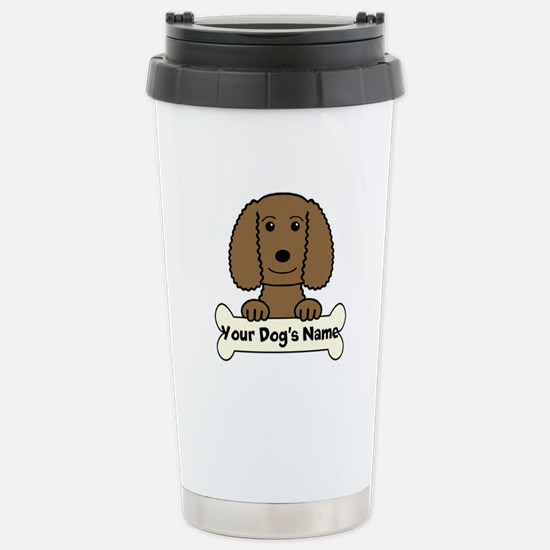 Personalized Water Span Stainless Steel Travel Mug