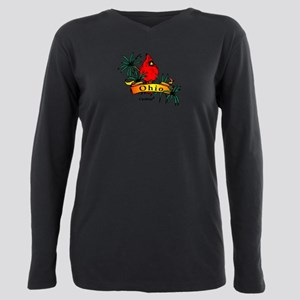 product name Plus Size Long Sleeve Tee