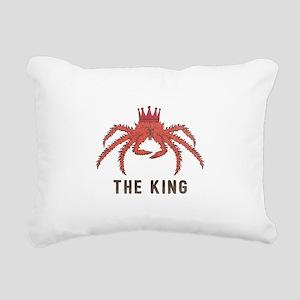 The King Rectangular Canvas Pillow