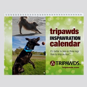 Tripawds Wall Calendar #19 - New For 2017