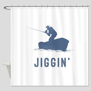 Jiggin' Shower Curtain