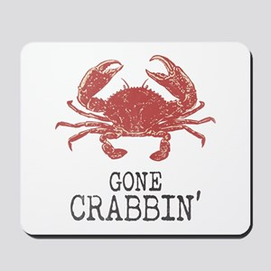 Gone Crabbin' Mousepad