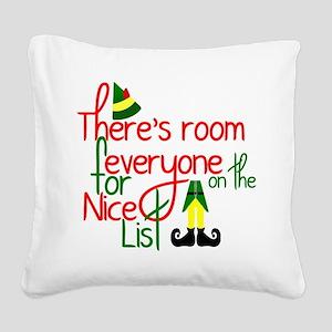 Elf Movie Quote Square Canvas Pillow