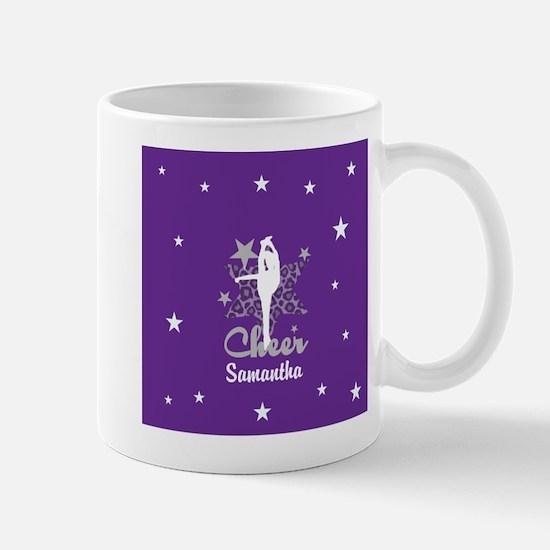 Purple Allstar Cheerleader Mugs