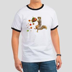 Squirrel Spilling Food T-Shirt