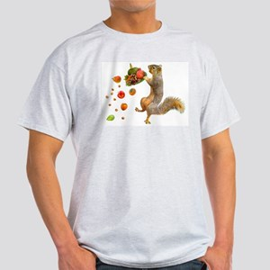 Squirrel Spilling Food T-Shirt