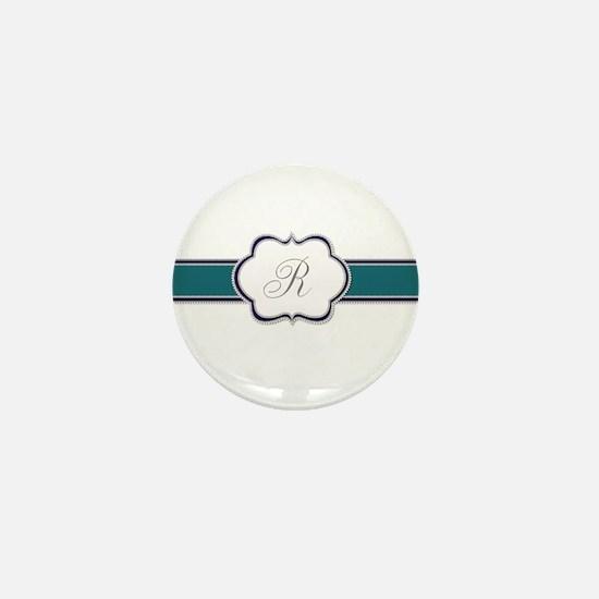 Elegant Monogram by LH Mini Button