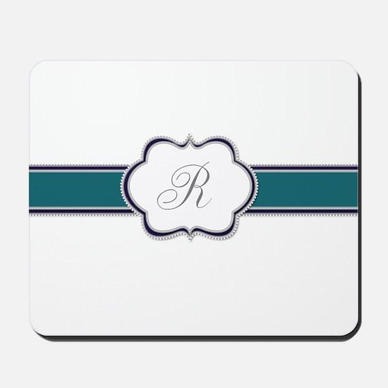 Elegant Monogram by LH Mousepad