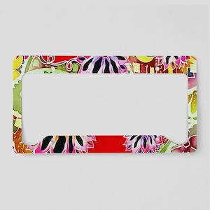 No. 021 Batik Art Asia Master License Plate Holder