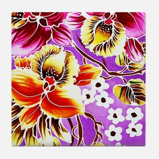 Cute Malaysia Tile Coaster